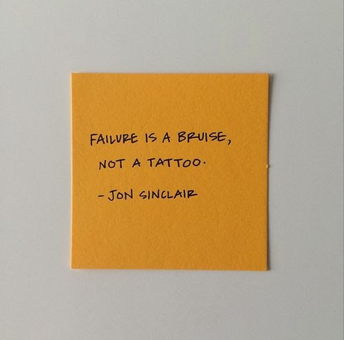 Failure is a Bruise
